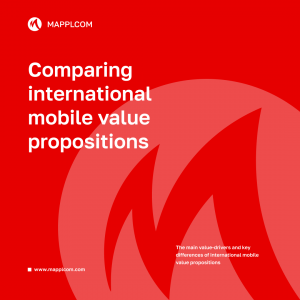 Comparing international mobile value propositions
