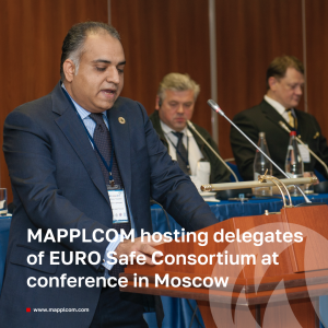MAPPLCOM hosting delegates of EURO Safe Consortium at conference in Moscow