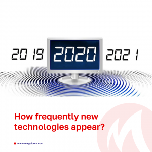 How frequently new technologies appear?