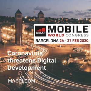 Coronavirus threatens Digital Development: Mobile World Congress in Barcelona is cancelled for the first time in its 33-year history