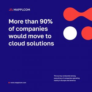 More than 90% of companies would move to cloud solutions! What are you waiting for?