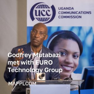 The Head of UCC Mr. Godfrey Mutabazi discussed Ugandan Telecom development opportunities with EURO Technology Group