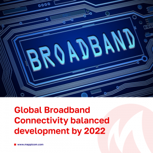 """What does """"Global Broadband Connectivity"""" within Telecom operators mean and is reaching this state of balanced development achievable by 2022?"""