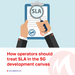 How to define a way operators should treat SLA in the 5G development canvas?