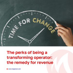 The perks of being a transforming operator: those who have already started the process can see the remedy for revenue in predictable future