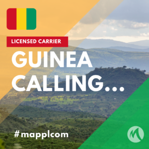 MAPPLCOM™ is in Republic of Guinea as well and initiating services