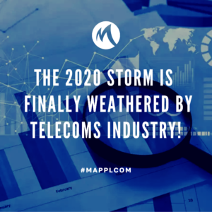 The 2020 storm is finally weathered by telecoms industry!