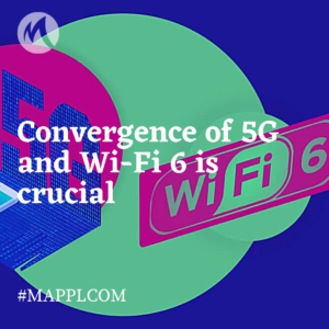 Convergence of 5G and Wi-Fi 6 is crucial for development of smart cities and Industry 4.0